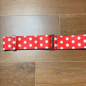 Buckle-Down Minnie Mouse Cinch Waist Belt